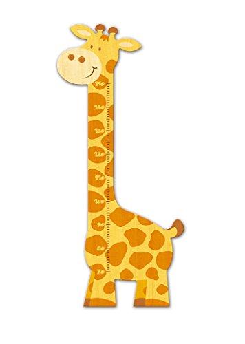 metro asta da parete misura altezza bambini in legno a forma di giraffa qualita 39 svizzera. Black Bedroom Furniture Sets. Home Design Ideas