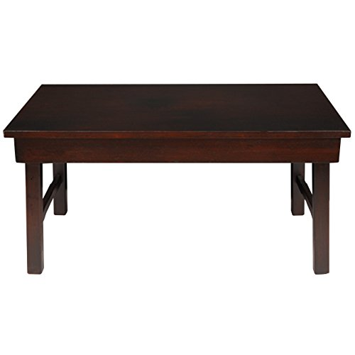 Oriental Furniture Rosewood Korean Tea Table (Japanese Low Table compare prices)