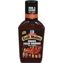 Grill Mates Brown Sugar Bourbon BBQ Sauce, 19 Ounce -- 6 Per Case.