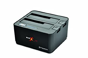 "Thermaltake BlacX Duet 5G ST0022U ABS Plastic 2.5"" & 3.5"" USB 3.0 HDD Docking Station, Black"