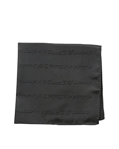 Alexander McQueen Men's Pocket Square, Black