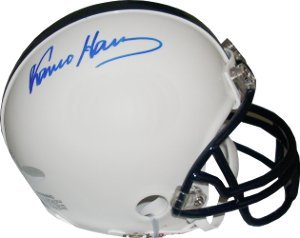 Franco Harris signed Penn State Nittany Lions Replica Mini Helmet- Steiner Hologram by Athlon+Sports+Collectibles
