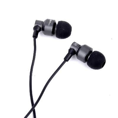 Good Ruler 3.5 Mm In-Ear Earphone Headphone Headset With Super Bass Stereo And Mic Microphone For Tablet Mp3 Mp4 Pod Phone (Black)