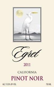 2011 Egret Pinot Noir 750 Ml
