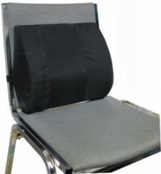 vibrating massage lumbar seat cushion w seat back strap health personal care. Black Bedroom Furniture Sets. Home Design Ideas