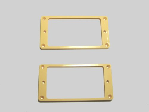 [Domestic] for humbucker エスカッション flat top for set cream PUR-FT-CRM