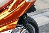 キジマ(Kijima) ヘルメットロック シグナスX ブラック 303-1529