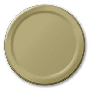 Sage Green Dessert Plates (Round)