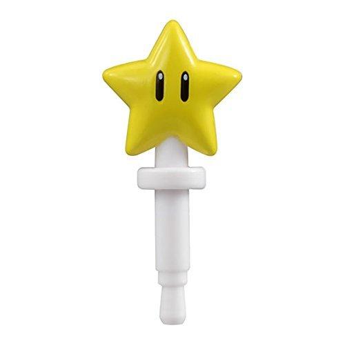 Super Mario Digital Item Mascot~Super Star Phone Jack Pin 11mm