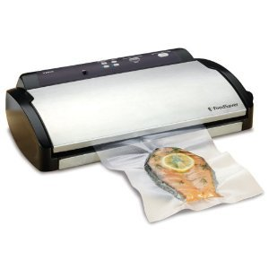 FoodSaver V2840 Advanced Design Vacuum Food Sealer, White/Black