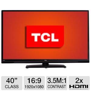 TCL LE40FHDE3000 40-Inch 1080p 60Hz LED HDTV (Black)