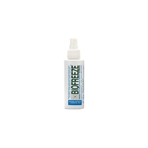 Read About Biofreeze Pain Relieving Spray, 4-Ounce (Pack of 2)