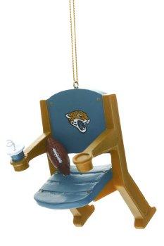 NFL Licensed Jacksonville Jaguars Team Stadium Chair Ornament