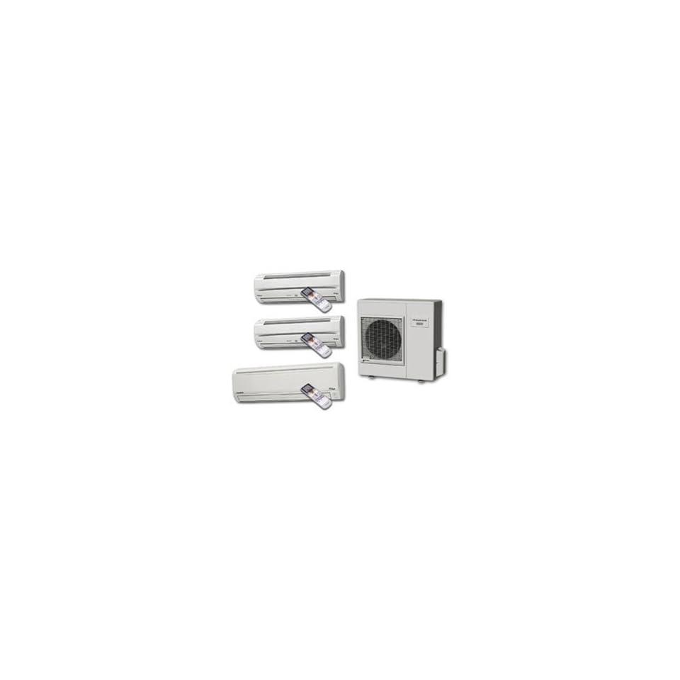 Heat Pump, Cooling, 35200 BtuH, 230/208 V
