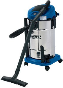 Draper 48498 1400W Wet and Dry Vacuum Cleaner