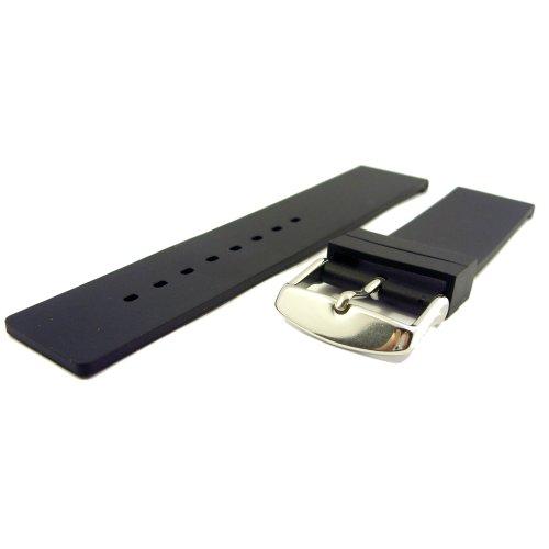 Zeitpunkt-Nylon Watchband grey 24 mm