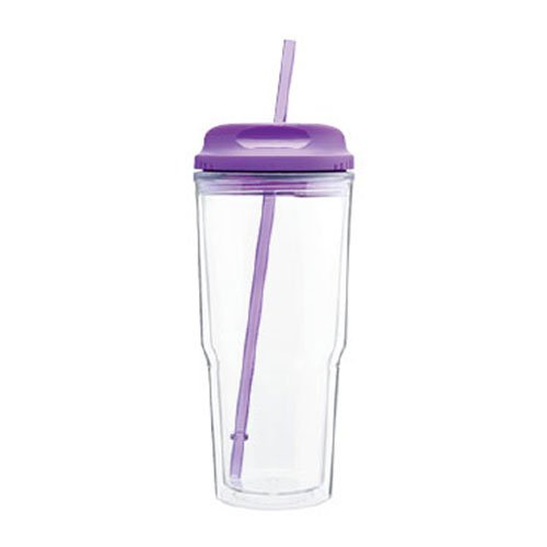 Drink Cup With Straw front-393749