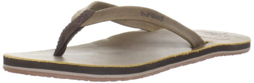 Reef Women'S Girls Skinny Leather Flip Flop Sandal,Brown,6 M Us front-1057208