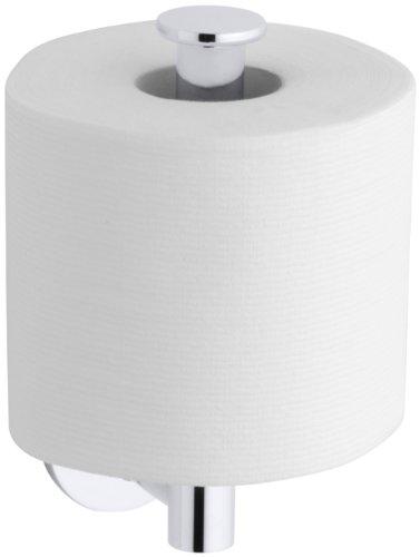Kohler K-14459-CP Stillness Toilet Tissue Holder (Polished Chrome)