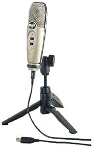 CAD U37 USB Studio Condenser Recording Microphone (Certified Refurbished)