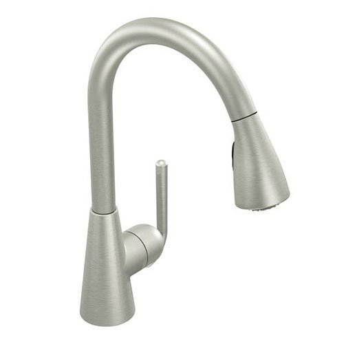 Moen S71708CSL Ascent One-Handle High Arc Pulldown Kitchen Faucet Featuring Reflex, Classic Stainless by Moen Incorporated (Moen Ascent Kitchen Faucet compare prices)