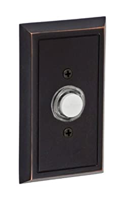 Fusion Hardware BEL-S8-ORB Sonoma Collection Shaker Doorbell, Oil Rubbed Bronze, 1-Pack