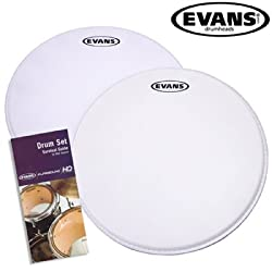Evans G1 Coated Snare Drum 2 Pack, 14 Inch