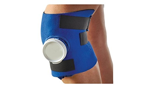 Adjustable Knee Ice Wrap - Targeted Cold Therapy for Sore Knees - One Size Fits All (Ice Therapy Machine Breg compare prices)