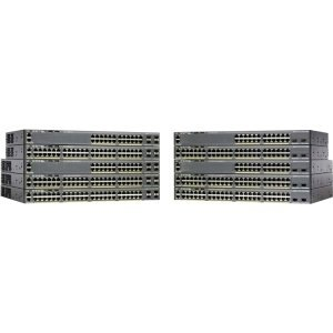 Cisco Catalyst WS-C2960X-48FPS-L Ethernet Switch * 48 Ports - Manageable - 48 x POE - 4 x Expansion Slots - 10/100/1000Base-T - PoE Ports - Rack-mountable, Desktop