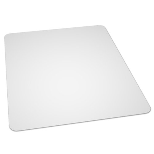 ES Robbins EverLife 46-Inch by 60-Inch Multitask Series Hard Floor Rectangle Vinyl Chair Mat, Clear (Es Robbins Hard Floor Chair Mat compare prices)