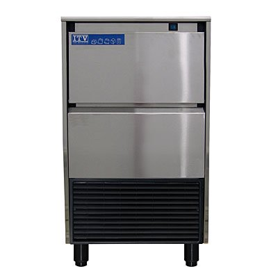 143 Lb Stainless Steel Commercial Ice Maker Machine