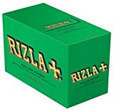 Box of Green Rizla Cigarette Papers standard.