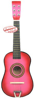 Star Kids Acoustic Toy Guitar 23′ Pink Color MG50-PK