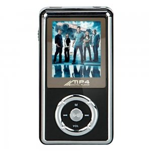 2GB Media MP4 Player with Stereo Speaker & FM Radio – Black B017GVQDC4