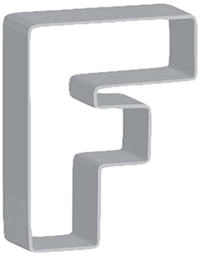 Flavortools F Letter Cookie Cutter with Exclusive Flavortools Copyrighted Cookie Recipe Booklet, 3-Inch (Letter F Cookie Cutter compare prices)
