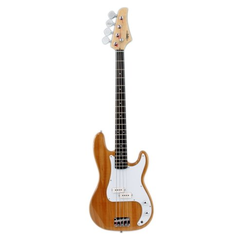 Legacy Solid Body Electric Bass Guitar, Natural