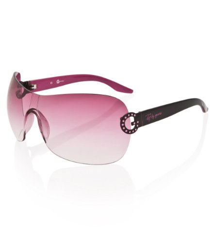 G by GUESS Logo Sunglasses, PINK