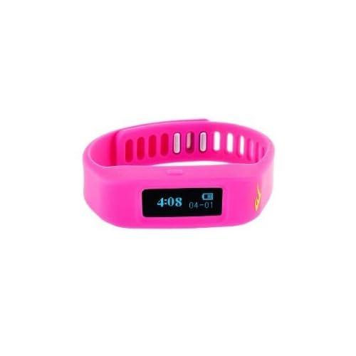 腕時計 Everlast TR1 Pink Wireless Sleep/ Fitness Activity Tracker Watch with LED Display [並行輸入品]