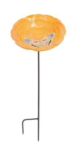 [해외]Achla는 귤 birdbath입니다 디자인/Achla Designs Tangerine Birdbath