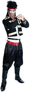 Fun Shack Adult New Romantic Adam Ant Costume - LARGE