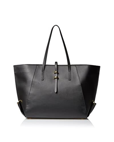 Zac Zac Posen Women's Eartha Vachetta Shopper, Black