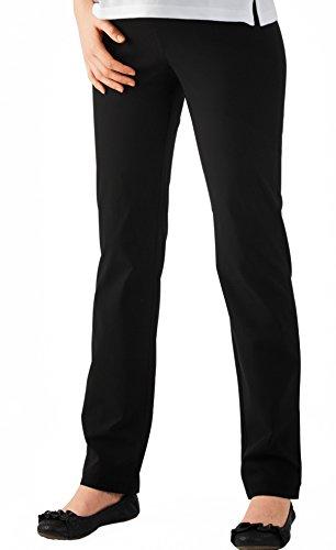 Christoff-Pantaloni da donna pantaloni pre-maman 552/33premaman Anthrazit 54
