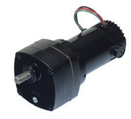 Dayton DC Parallel Shaft TENV Permanent Magnet Gear Motor 5 RPM, 1/20hp 90 Volts DC Model 2H569