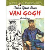 Dover Masterwork Color Your Own Van Gogh Painting Book