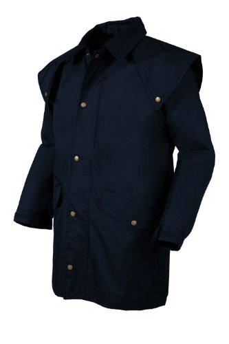 Mens Target Dry Rancher Coat Dark Navy - Waterproof Windproof Hooded Coats (XXL  (48/50in chest))