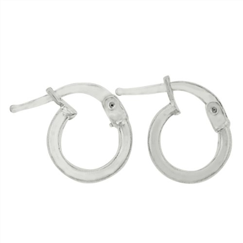 Sterling Silver .925 Tube Stlye 2mm Gauge Thickness and 10mm Width Wide Plain Hoop Earrings. Available in 10mm, 12mm, 14mm, 16mm, 18mm, 20mm, 25mm, 30mm, 40mm, 50mm, 60mm, 70mm, 80mm