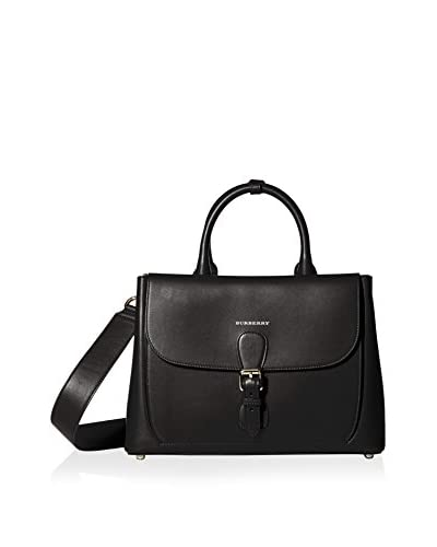 Burberry Women's Medium Saddle Bag, Black