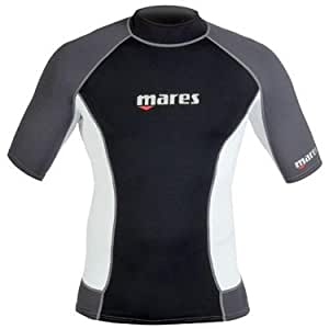 Mares UV-Shirt Rash Guard Shortsleeve Men Collection 2011, black, S, 412974