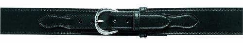 Safariland 146 Border Patrol Style Duty Belt, Black, Plain For 34-Inch Waist