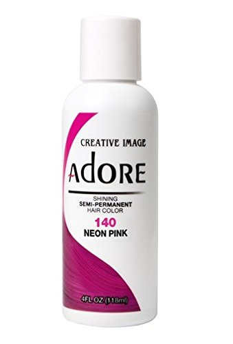 Adore Creative Image Semi-permanent Hair Color #140 Neon Pink (Neon Permanent Hair Dye compare prices)